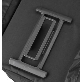 KlickFix Rackpack Touring Luggage Carrier Bag for GTA, czarny